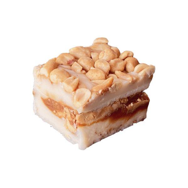 Salted Nut Roll Fudge